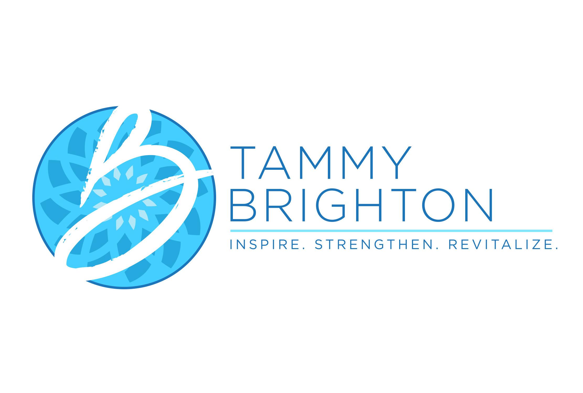 Tammy Brighton Logo Design   CM2 Design   Craig Meland: Graphic ...